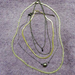 925 Beautiful Woven Sterling Silver Necklace Plus